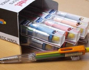 12pcs Pentel Multi 8  PH158 8-Color Automatic Mechanical Pencils
