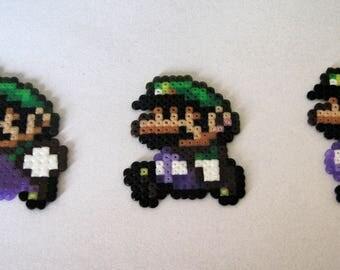 set of 3 Luigi sprites