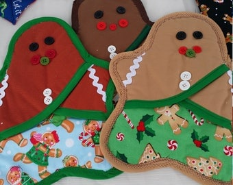 Gingerbread Oven mitts