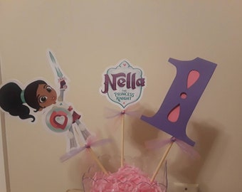 Nella the princess knight centerpieces!