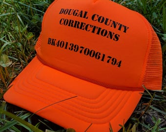 Squidbillies Dougal County Corrections Trucker Hat