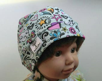 Doodle Hat - childrens - baby - 6-12 months