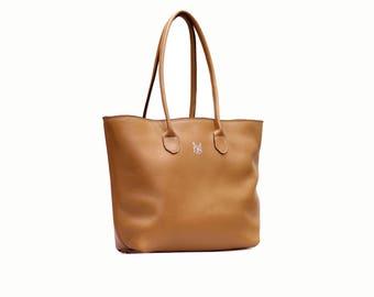 Tan Opal Tote Bag