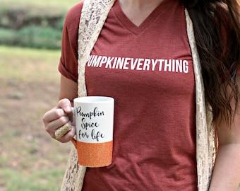 Pumpkin Spice Latte - Pumpkin Spice Shirt - Fall Mug - Pumpkin Spice Mug - Fall Mug Sets - Pumpkin Spiced Latte - Pumpkin Shirt - Pumpkin
