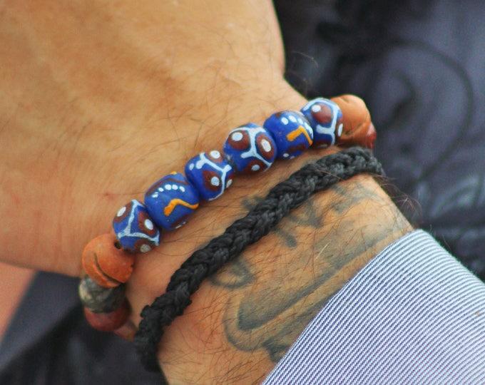 Vintage krobo bracelet
