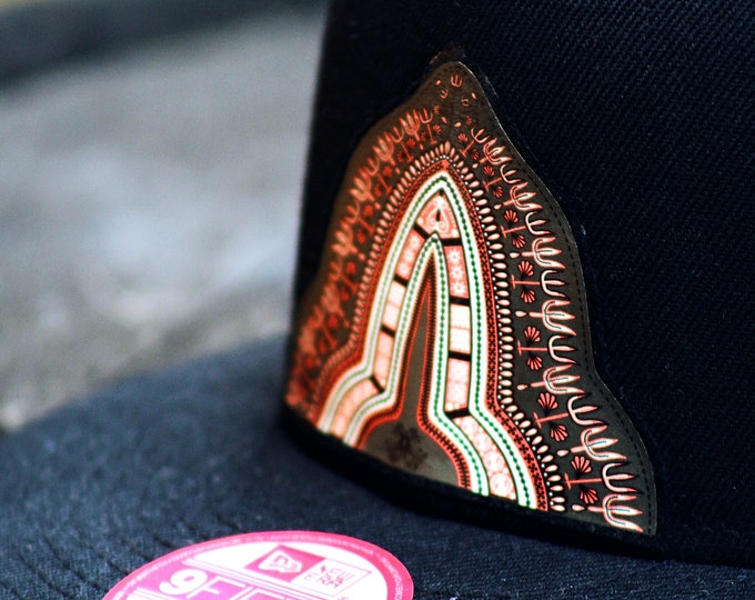 Men's dashiki emblem hat