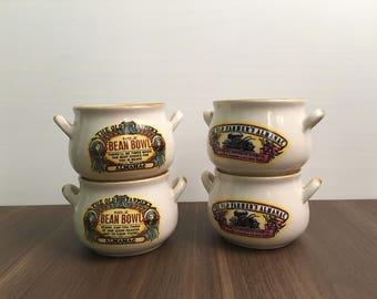 Bean Bowls - Set of 4