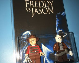 FREDDY vs JASON Horror Series Custom Movie 2 Pack Minifigures