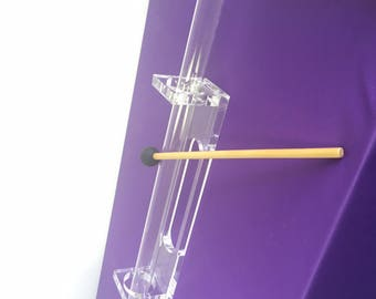 Quartz Crystal Harp ( Single Tube) - Perfect for Sound Therapy