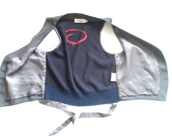 GIGLI  ROMEO Vintage original women's vest GIGLI. Romeo Made in Italy//Size 46