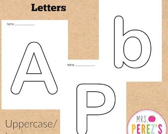 ABC Bubble Letters