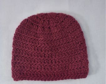 half price alpine wool hat in red