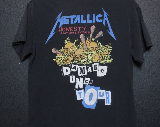 Metallica Damage Inc Tour vintage Tshirt