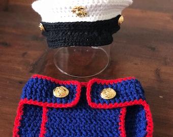 USMC Baby Dress Blues Set *Ready to Ship*