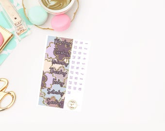 Celebrate Date Covers add on, planner stickers