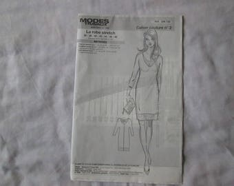 1Cahier sewing out stretch dress size 36 to 48