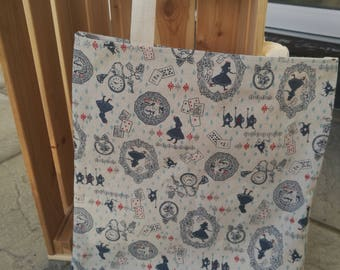 Alice In Wonderland Tote
