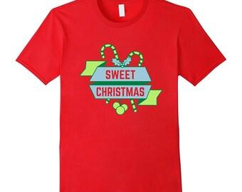 Merry Christmas Tshirt Ugly Christmas Sweater Holiday Tee