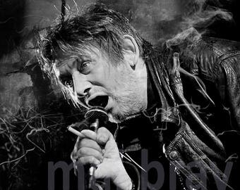 Shane MacGowan, The Pogues, print, poster