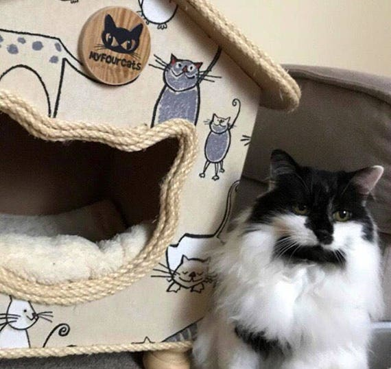 CatCottage, Cat House, Cat Bed, Pet Furniture, CatCave