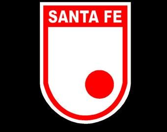 Intdependiente Santafe escudo | soccer | futbol Car Decal/ sticker
