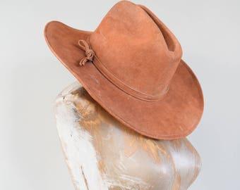 Vintage Cowboy Hat. Vintage Mexican Hat. Vintage Mexican Sombrero. Vintage Black Hat. Leather Hat. Leather Sombrero