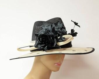 New high quality Kentucky Derby Hat, English Royal Hat, Wedding Hat, Formal Hat, Dressy Hat, Church Hat