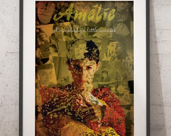 Amélie Print/AméliePoster/ Amélie Poulain Poster/Amélie Poulain Print/Audrey Tautou Poster/ Audrey Tautou print/