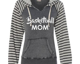 Basketball Mom Hoodie. Basketball Mom Shirt. Basketball Mom Gift.