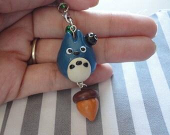 Kawaii Totoro Acorn Charm