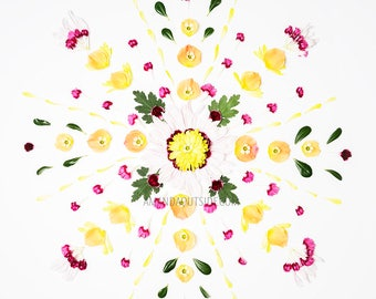 Flower Mandala Art Print 4