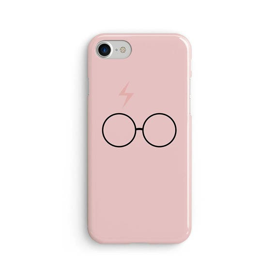 Harry pink scar and glasses - iPhone 7 case, samsung s7 case, iphone 7 plus case, iphone se case 1P035