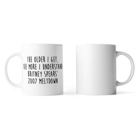 Britney Spears 2007 meltdown mug - Funny mug - Rude mug - Mug cup 4P068