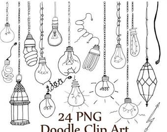 String Lights Doodle : String art template Etsy