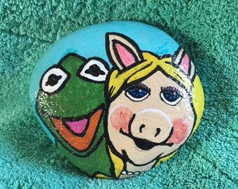 Muppets inspired Kermit and Miss Piggy