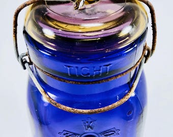 Square 'Queen Wide Mouth Adjustable' Jar