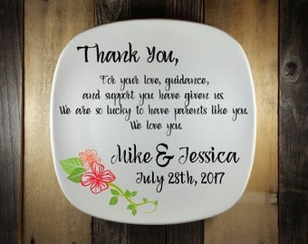 Parent Thank You Gift, Fall Theme Wedding, All That We Are Wedding, Custom, Parent Wedding Gift Ideas, Wedding Keepsake, Gift for Parent