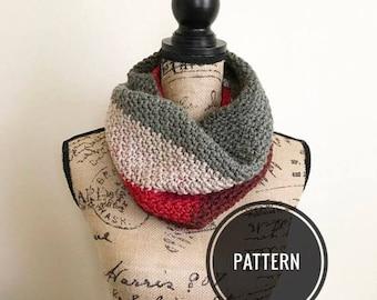 Crochet cowl pattern, caron cake cowl, pattern tutorial, cowl pattern, crochet cowl, striped cowl pattern