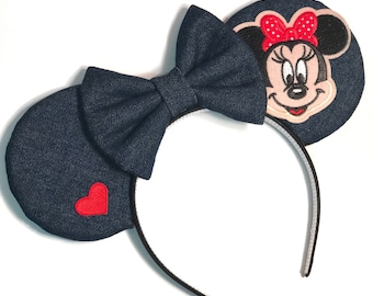 Denim Mouse Ears
