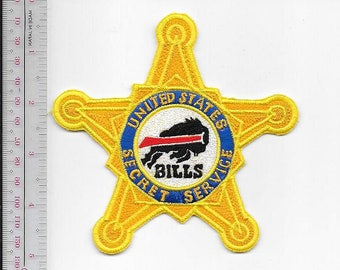 Secret Service USSS New York State Buffalo Field Office Buffalo Bills Agent Service Patch