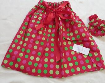 Skirt and headband 6 years
