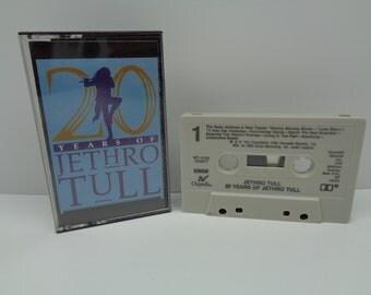 Jethro Tull 20 Years of Jethro Tull Cassette