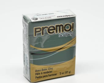 Premo Accent Polymer Clay 2 oz/ 57g Jungle 5535