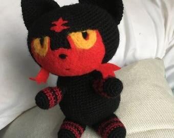 Crochet Pokemon inspired litten