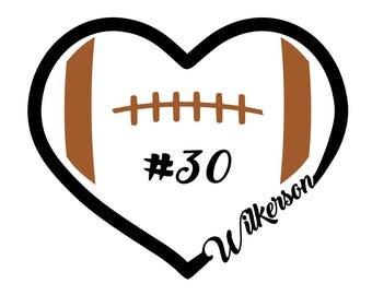 Heart of Football - svg files