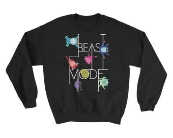 Pole Dance Fleece Sweatshirt || Beast Mode