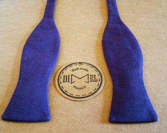 Bow tie adjustable purple to order