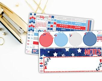 July Patriotic Notes Kit
