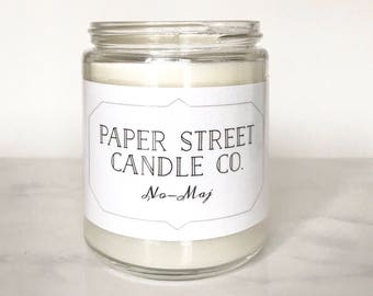 No-Maj | Wizard Inspired Candle | bakery candles | soy candles | jelly donut candle | literary candles | candles | Fantastic