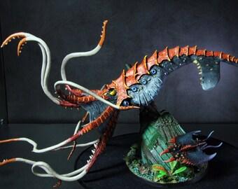Reaper Bones Kraken Painted
